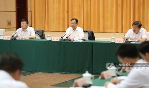 陳武主持召開六市經濟形勢座談會