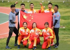 海军五项――中国队包揽男、女障碍接力赛冠军