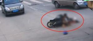 桂林一司机撞人后离开现场 交警认定不属于逃逸