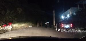 直擊:廣西新聞網記者到達南丹礦井冒頂事故現場