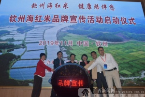 欽州市舉行2019年海紅米品牌宣傳活動