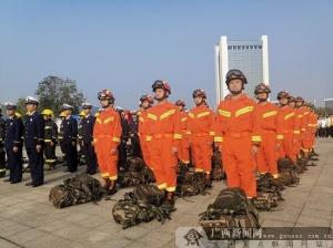 """2019年威尼斯人网站市""""119""""消防宣传月活动启动仪式举行"""