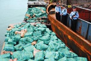 钦州海关查扣百吨偷运进境冻品 有广西人爱吃的…