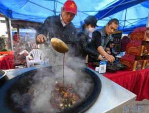 江南运河水乡举办传统美食文化节