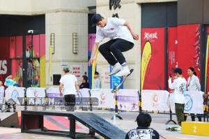 区内各地青少年角逐2019广西青少年滑板锦标赛