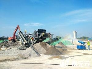 南宁首个建筑垃圾资源化利用基地投入运营