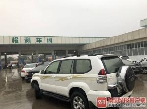 南宁市机动车新环检标准实施 待测车辆排长龙