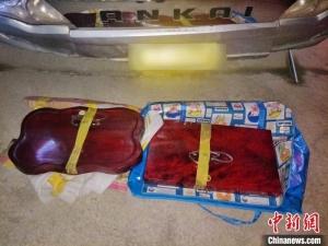 云南普洱邊境管理支隊連破2起毒品案 繳毒逾7公斤