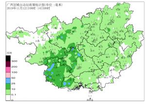广西本次降雨过程基本结束 大部地区气温逐渐回升