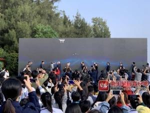 首屆中國北海國際戶外動態雕塑展活動開幕(圖)