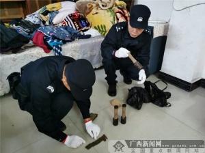 防城港一村民整理老伴遗物 意外发现3枚手榴弹