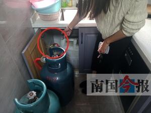 柳州一小区管道燃气安装在即 厨房装修却不合规