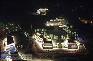 百色城红色景区集体亮灯 迎接百色起义90周年
