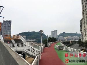 梧州河东防洪堤桂江段封闭施工 预计年底重新开放