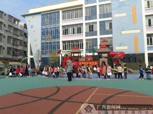 鹿寨县开展国民体质监测 提升群众身体素质