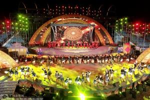 第二十屆河池銅鼓山歌藝術節在南丹開幕