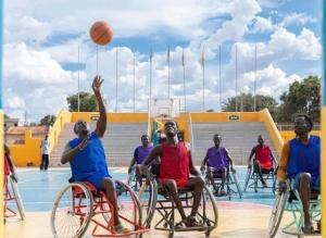 不熄的篮球梦——记南苏丹轮椅篮球队