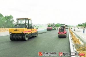玉林路网升级改造项目,二环西路建设全线攻坚