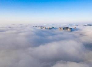 贵阳:雾中仙境