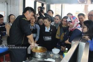 泰王国驻南宁总领事馆举办首届泰菜厨师培训班(图)