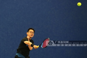 2019年第二届澳门星际网址官网注册平台城市业余网球团体赛在南宁挥拍