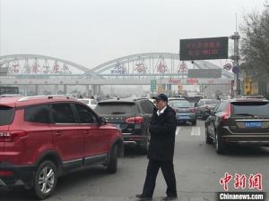 河北發布大霧橙色預警 省內北京以南高速全部關閉