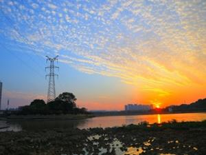 高清組圖:南寧、柳州、北海絢麗晚霞,你最愛哪里