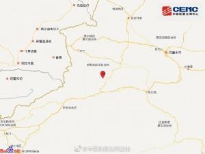 新疆阿克苏地区库车县发生3.6级地震