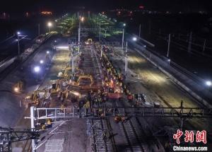 安徽肥东站改造正式启动