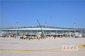 """""""掛牌""""啦!玉林人的新機場明年3月開始試飛"""