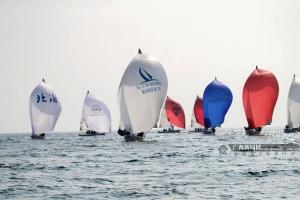 """""""一带一路""""国际帆船赛北海站:公开组等率先进行"""