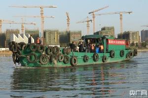 寧波內河首條船舶水污染物接收船投入使用