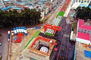 南崇鐵路進入盾構掘進施工階段 計劃2022年通車