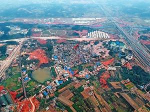 12月29日焦�c�D:南��五象新�^4幅商住地出�成功