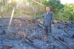 村民炼山不慎引发森林火灾 过火有林面积175.8亩