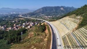 黄竹口隧道双洞贯通!成为广西高速已贯通最长隧道