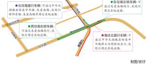南寧市中華北湖路口圍擋施工 交警呼吁提前繞行