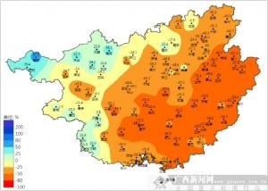全区组织实施增雨作业46次 减轻旱情影响