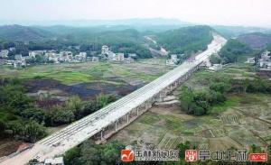 力争3月底通车!玉湛高速公路(广西段)主线贯通