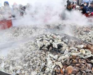 第五届山东乳山牡蛎文化节开幕