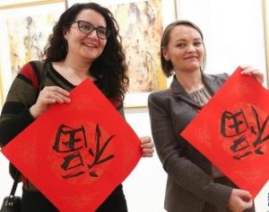 """布鲁塞尔举行""""中国年・共欢乐""""活动"""