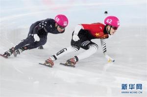 冬青奥会短道速滑男子1000米:李孔超获铜牌