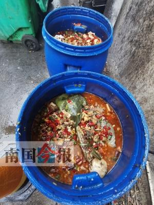 """柳州:泔水頻倒下水道 """"新法""""落地遇尷尬"""