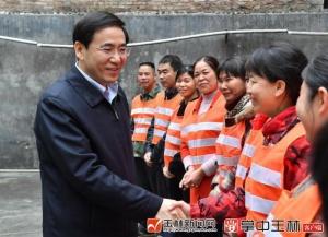 黄海昆:坚持以人民为中心的发展思想 确保全市人民安定祥和过春节