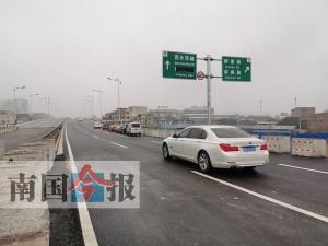 柳州外环路两处主线21日试通车(图)