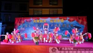 灌阳苏东:景区与村民欢天喜地迎新春