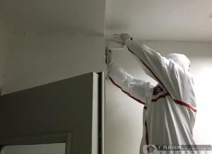 中国电信柳州分公司快速抢装防疫隔离区监控摄像头