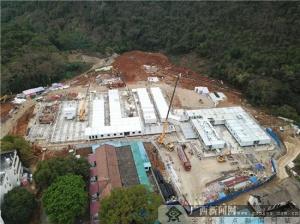 打赢疫情防控阻击战 广西8个后备应急医院正在建设中