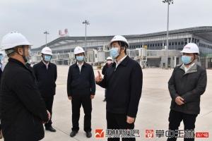 黄海昆到兴业县、福绵区检查调研,实地了解重大项目复工建设情况