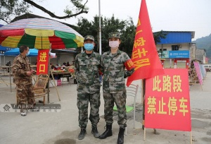 """組圖:環江百余名""""老兵""""志愿奮戰防""""疫""""一線"""